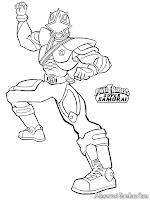 Gambar Power Ranger Super Samurai Untuk Diwarnai