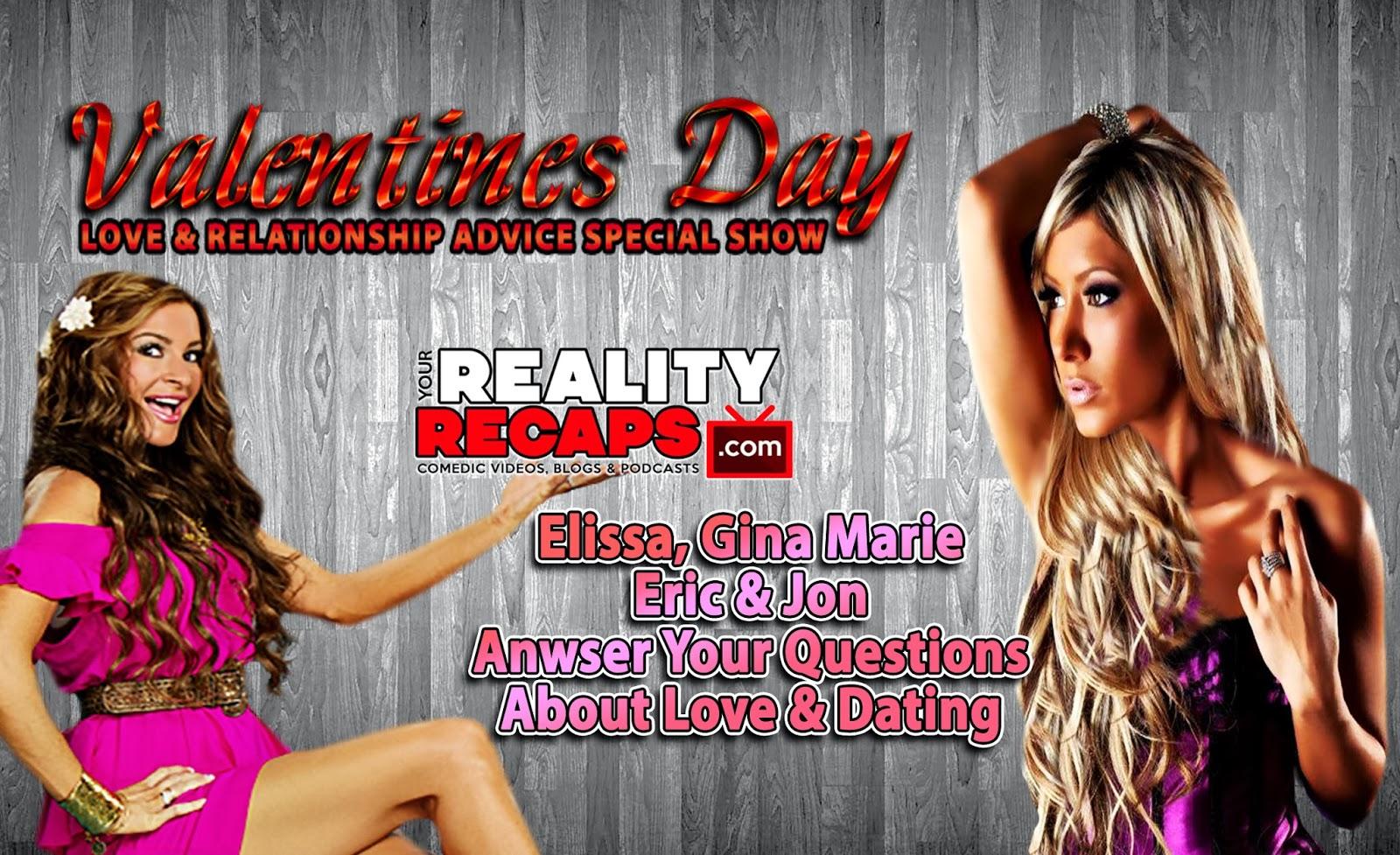 "Valentine's Day ""Love & Advice"" Show W/ Elissa & GM From BB15"