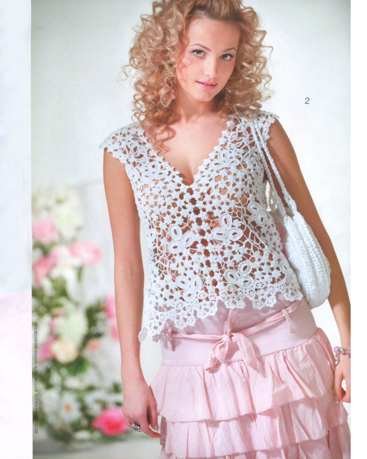 платья из журнала мод 556 вязание схемы