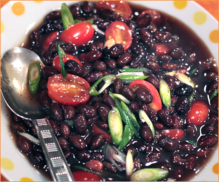 how to cook black beans fast
