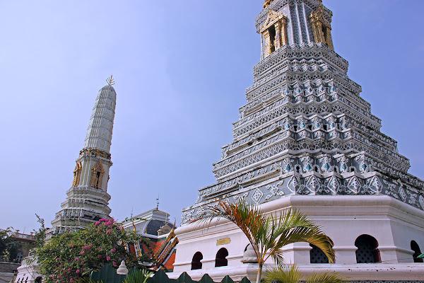Torres del Gran Palacio de Bangkok - Tailandia