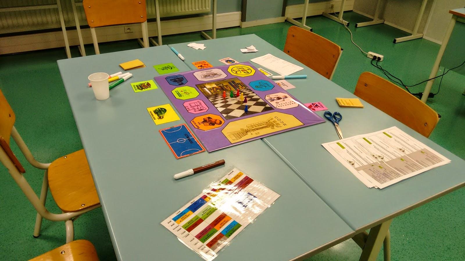 Populaire C Fair-Play: Atelier avec une classe de 3ème pour la création d'un  AG12