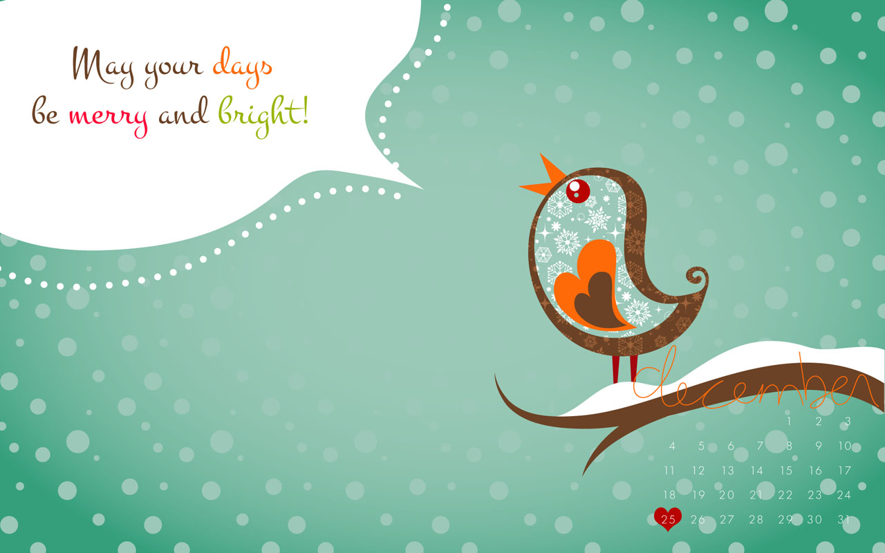 free - december desktop wallpaper | fancy girl designs