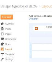 Cara Mengedit Tampilan (Template) di Blogger Baru