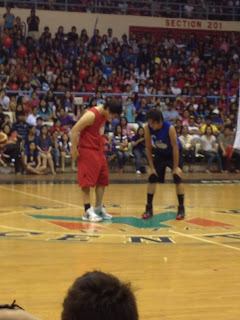 Team Jao vs Team Gino Basketball Game