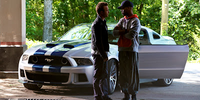 Kid Kudi şi Aaron Paul în Need For Speed