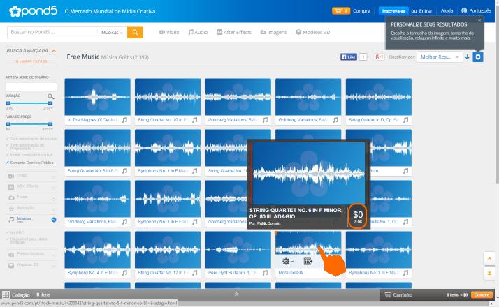 Projecto Dominio Publico -Ouvir musica