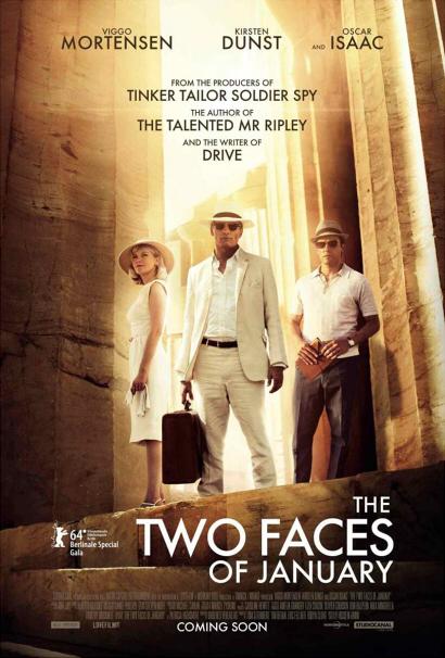 las dos caras de enero poster