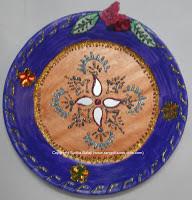Side dish for poori or chappati sudha balaji recipes for Aarti dish decoration