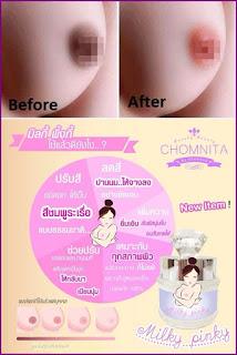 Hasil Puting cerah pink dengan dodora lips and nipple