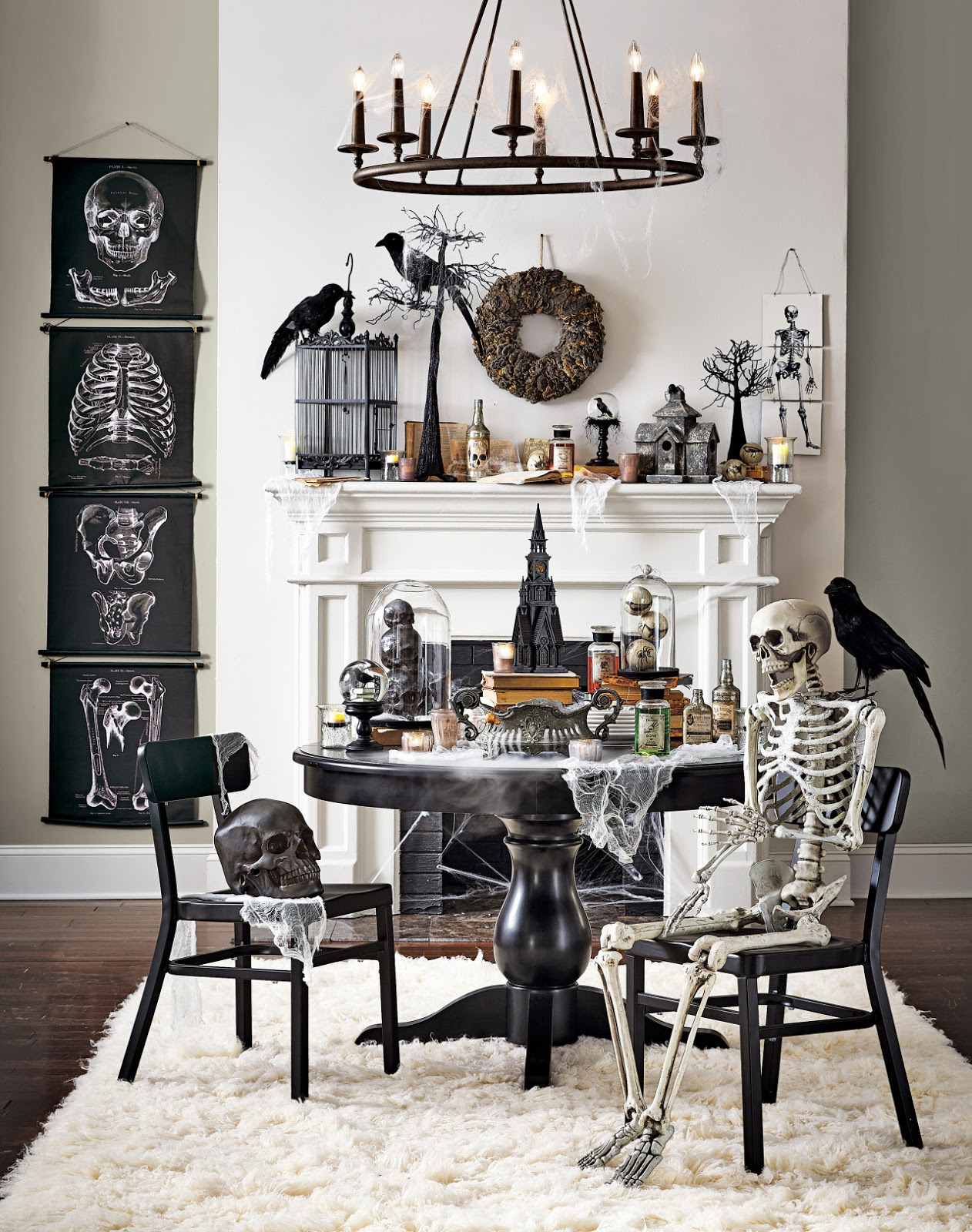 Vintage halloween collector 2015 halloween at home for Martha stewart home decorators collection