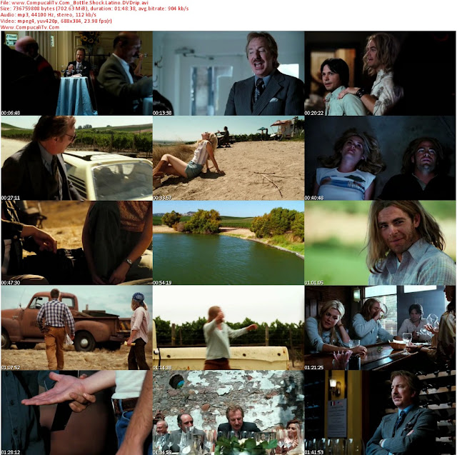Bottle Shock DVDRip Latino 1 Link