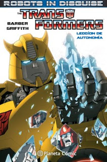 Portada Transformers: Robots in Disguise nº 1