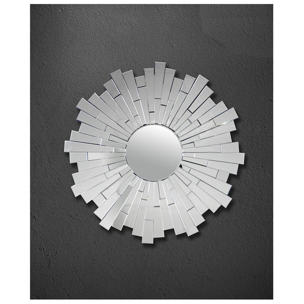 Overstock Abbyson Living Empire Round Wall Mirror