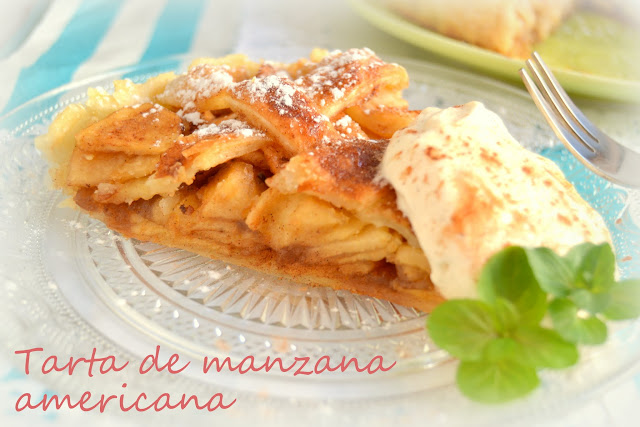 tarta de manzana americana, american apple pie