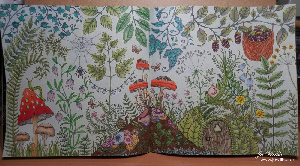 Another Enchanted Forest Colouring