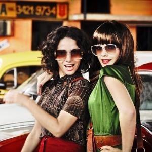 Claudia Ohana e Vanessa Giácomo em cena de 'A Novela das 8', longa de Odilon Rocha (Foto: Divulgação)