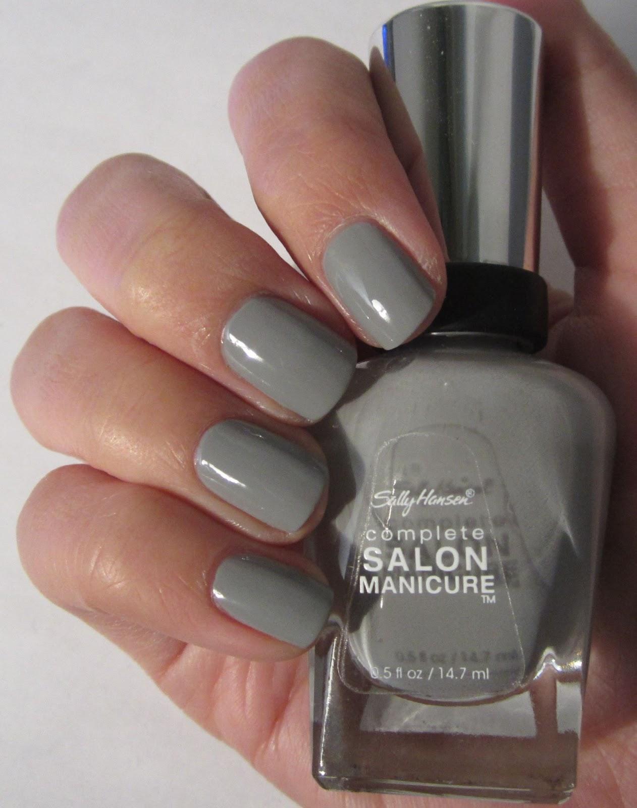 the nailbourhood: sally hansen complete salon manicure dorian grey