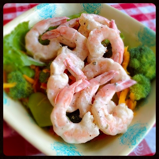 Have Lunch with Me: Refreshing Shrimp Salad!