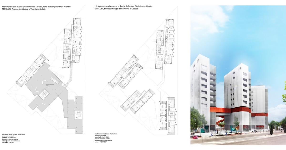 Amanncanovasmaruri coslada 118 viviendas para j venes for Oficina empleo coslada