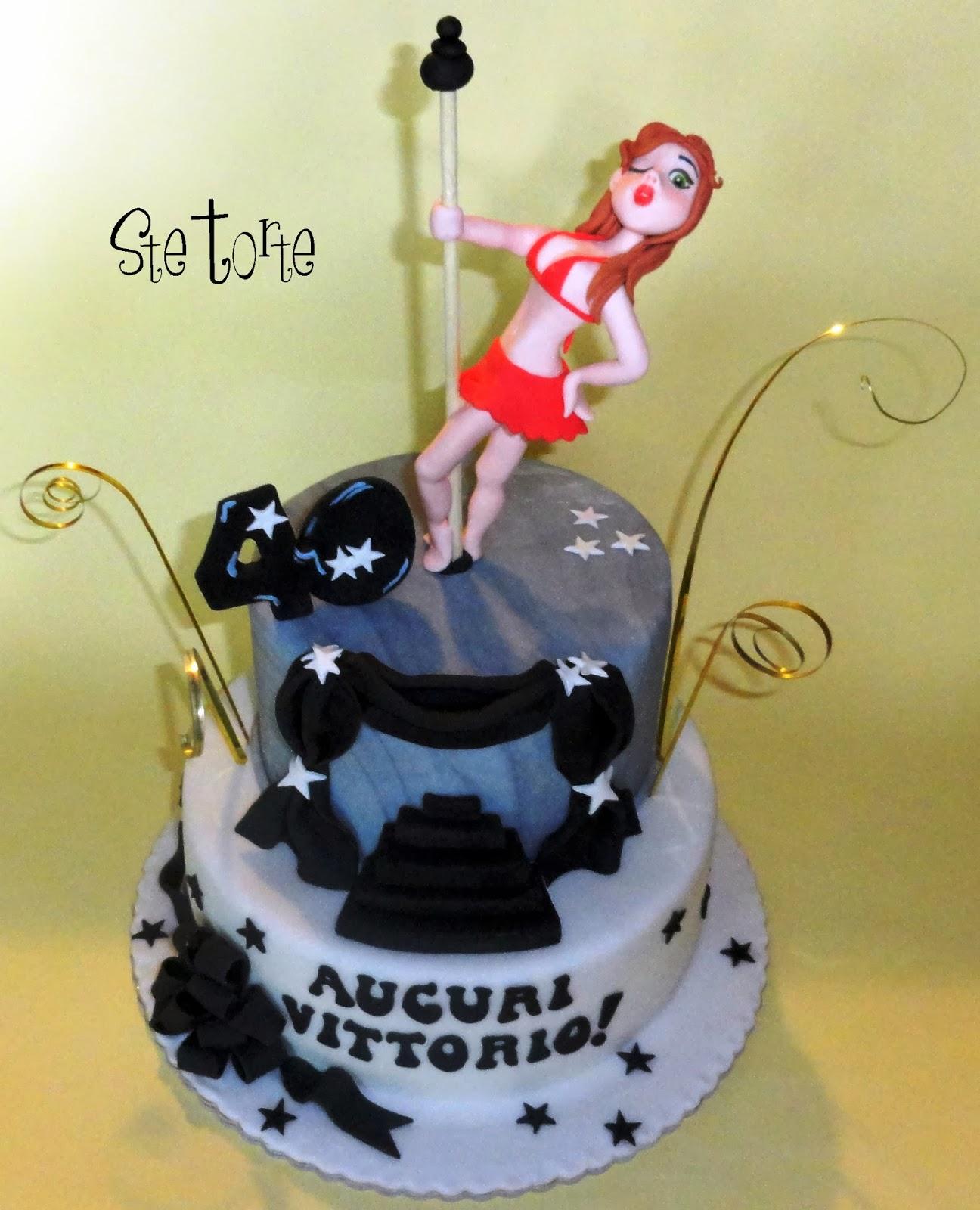 Ste torte torta 40 anni uomo for Decorazioni torte 40 anni uomo