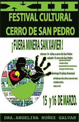 XIII FESTIVAL DE CERRO DE SAN PEDRO