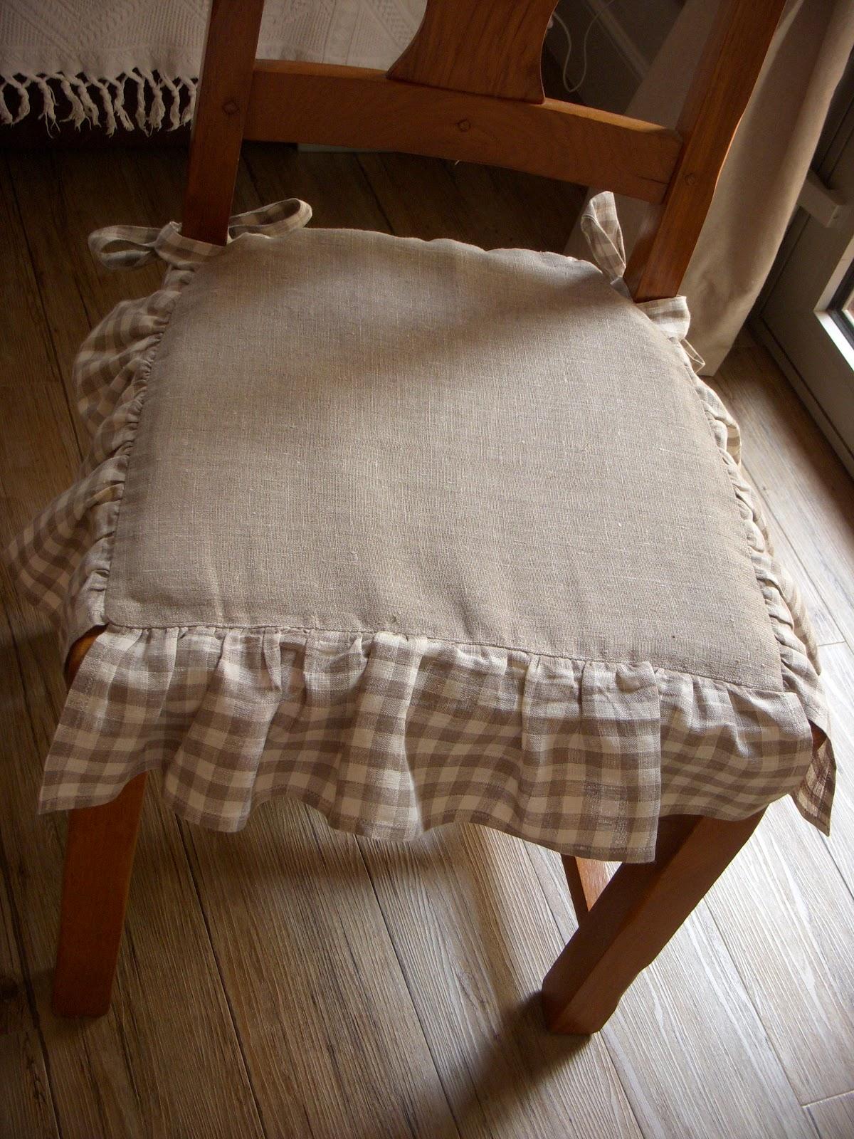 au fil et mesure galettes de chaise. Black Bedroom Furniture Sets. Home Design Ideas