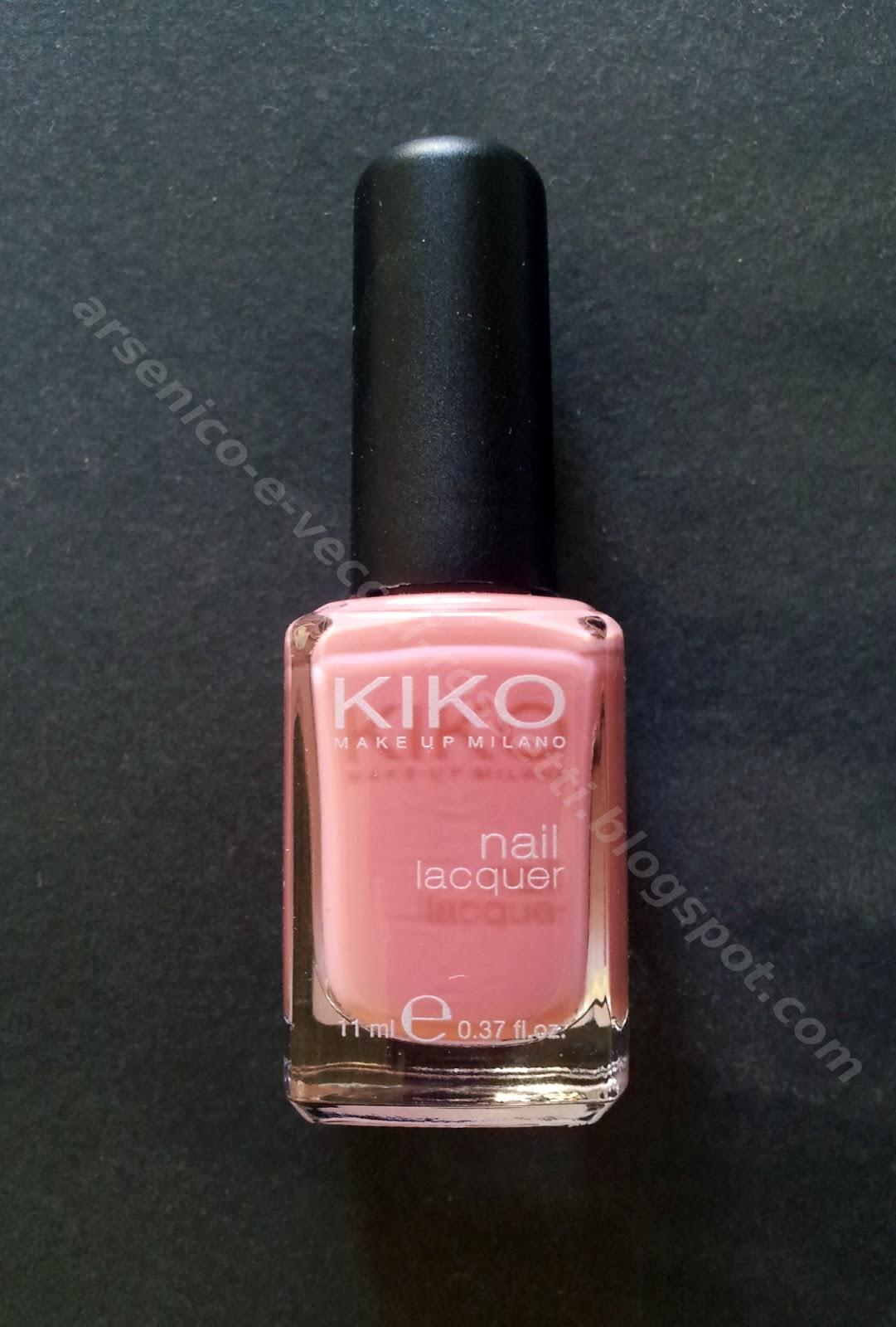 Kiko smalto 375 Rosa Classico