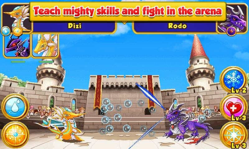 Android Games Dragon Mania Offline Asik - 2