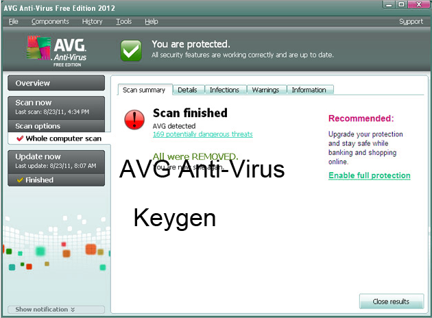 AVG Antivirus 2015 Keygen Portable License Serial Download