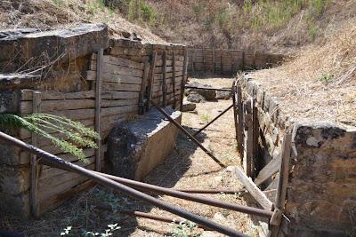 Stomion of the vapheio tholos tomb