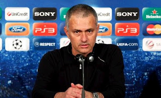 Mourinho at press conference before the defeat against Bayern Munchen