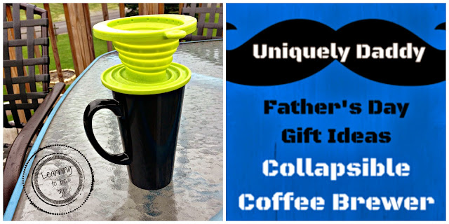 Father's Day, Coffee, Gift Idea, Travel, Hiking, Camping, Micro House, Single Serve, Daddy, Dad, Manly, Gift