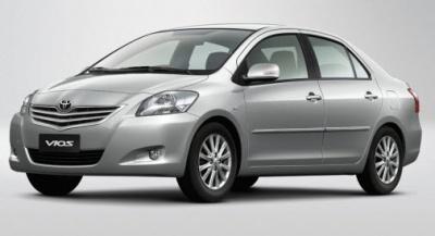Cho thuê xe Toyota Vios 1.5 E 2011