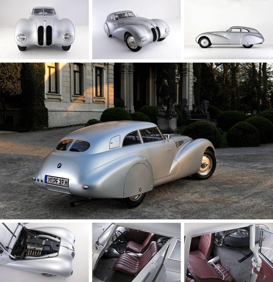 Baurspotting: 1940 BMW 328 Mille Miglia Kamm Coupé II vs Bmw Concept ...