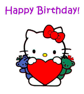 Hello Kitty Happy Birthday Idea