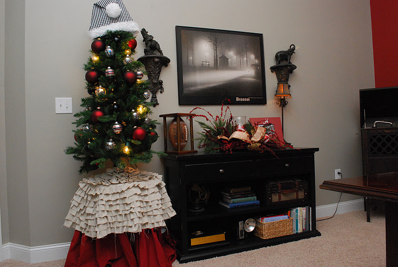 Fussy Monkey Business: My Home for the Holidays-Santa Hat Tree ...