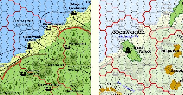 Mystara Alphatia Ar Cockatrice Maps