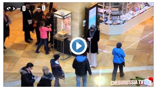 في روسيا شاهد الفرق بين التحرش بالمحجبات وغير المحجبات بالتجربة !!