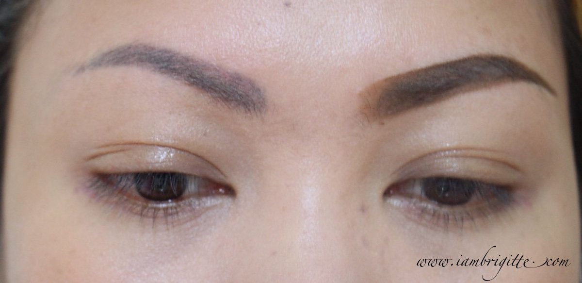Iambrigitte Gorgeous Brows In Two Steps With Maybelline Brow Satin