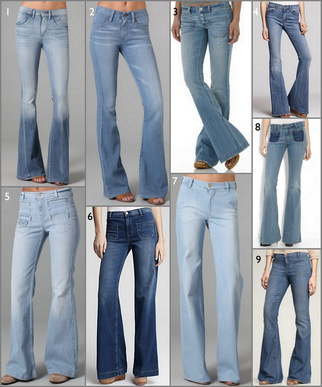 Obsession of the Moment: Light Denim Flares | *flashion lights*