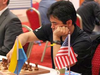 échecs : Les Etats-Unis avec leur leader Hikaru Nakamura s'inclinent 1,5-2,5 face aux Ukrainiens