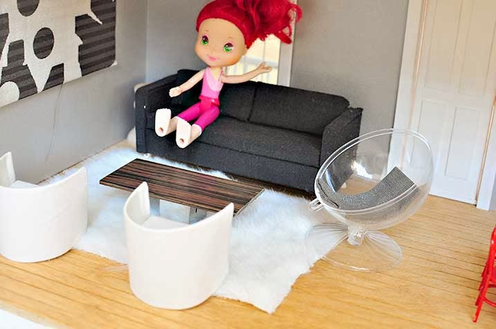 The Cheese Thief How To Make Modern Dollhouse Furniture
