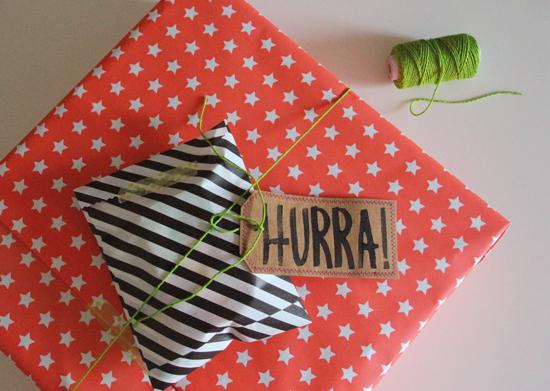 binedoro Blog, DIY, Geschenkverpackung, Geschenkanhänger, Etikett, Deko, Washme Paper, Anleitung, Tutorial