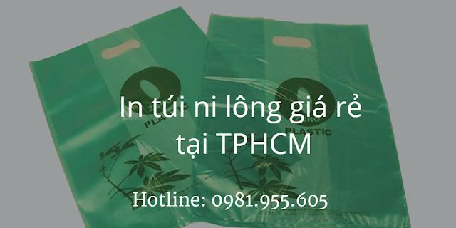 In túi ni lông giá rẻ tại TPHCM