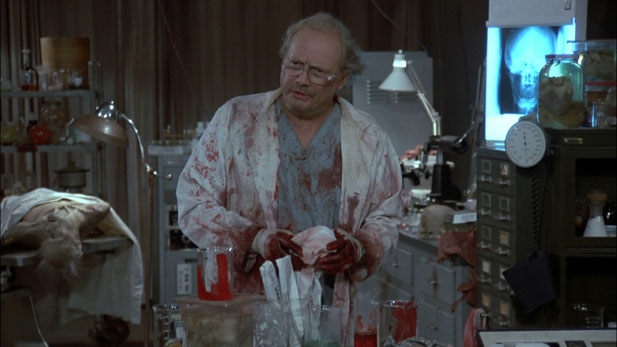 Dr. Logan, the mad scientist from Day of the Dead