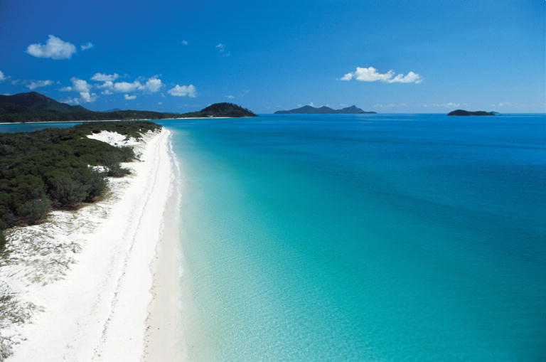 The Most Beautiful Places On Earth Whitehaven Beach Australia