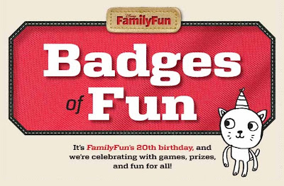 FamilyFun Badges of Fun