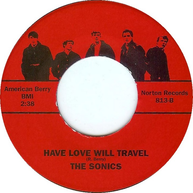 Druther Music Monday The Sonics Have Love Will Travel