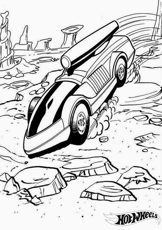 Hot Wheels Coloring Pages 13